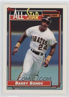 1992 Topps - [Base] #390 - Barry Bonds