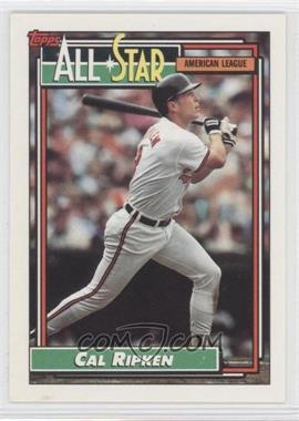 1992 Topps - [Base] #400 - Cal Ripken Jr.