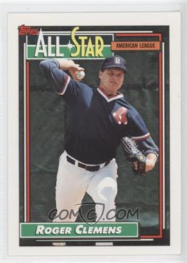 1992 Topps - [Base] #405 - Roger Clemens