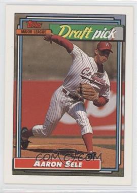 1992 Topps - [Base] #504 - Aaron Sele