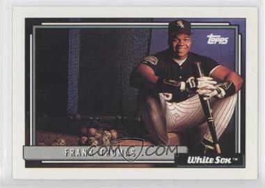 1992 Topps - [Base] #555 - Frank Thomas