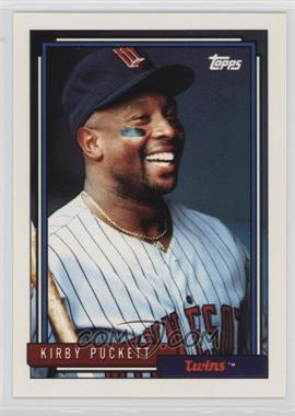 1992 Topps - [Base] #575 - Kirby Puckett