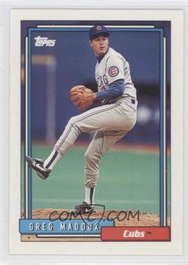 1992 Topps - [Base] #580 - Greg Maddux