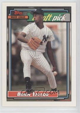 1992 Topps - [Base] #6 - Brien Taylor