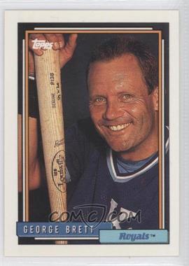1992 Topps - [Base] #620 - George Brett