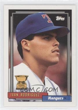 1992 Topps - [Base] #78 - Ivan Rodriguez