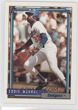 1992 Topps - [Base] #780 - Eddie Murray
