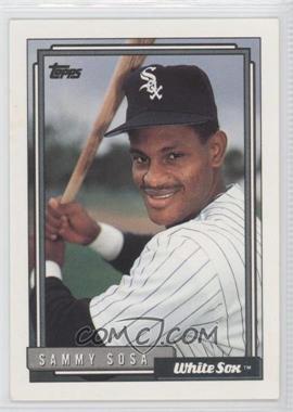 1992 Topps - [Base] #94 - Sammy Sosa