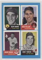 Ralph Branca, Bob Feller, Rogers Hornsby, Bobby Thompson