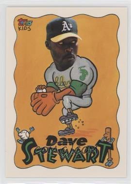 1992 Topps Kids - [Base] #117 - Dave Stewart