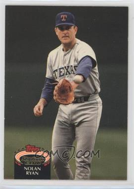 1992 Topps Stadium Club - [Base] #770 - Nolan Ryan