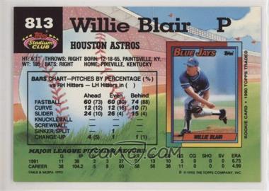 1992 Stadium Club Baseballcardpediacom