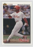 1992 Upper Deck Mariano Duncan Baseball Cards
