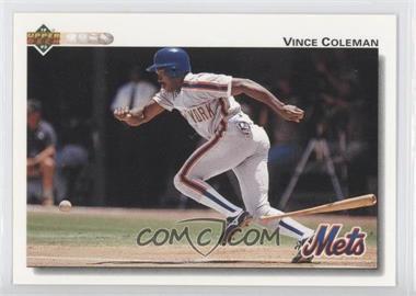 1992 Upper Deck - [Base] #131 - Vince Coleman