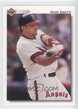 1992 Upper Deck - [Base] #321 - Gary Gaetti