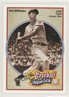 1942 Triple Crown Year - Ted Williams