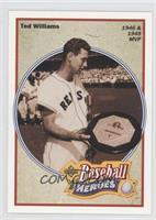 1946 & 1949 MVP - Ted Williams