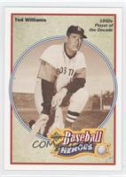 1950s Player of the Decade - Ted Williams