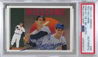 Ted Williams (Autograph) [PSA Authentic PSA/DNA Cert] #/2,500