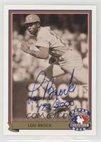 Lou Brock (Autograph) /3000
