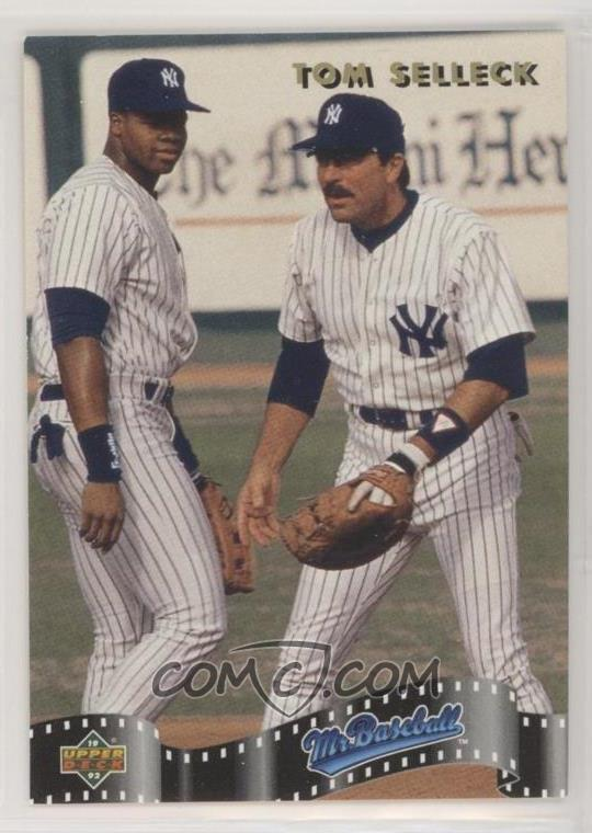 1992 Upper Deck Specials Sp4 Tom Selleck Frank Thomas