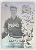 Jim Abbott, Porky Pig, Daffy Duck