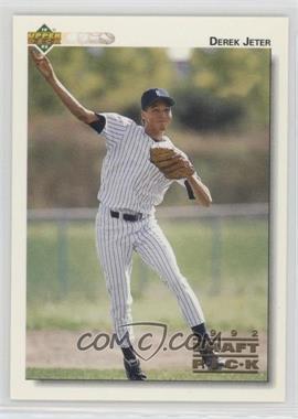 1992 Upper Deck Minor League - [Base] #5 - Derek Jeter