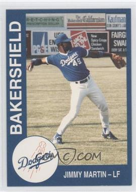 1993 Cal League Bakersfield Dodgers - [Base] #17 - Jim Martin