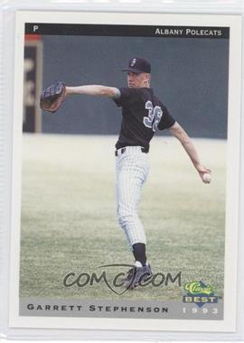 1993 Classic Best Albany Polecats - [Base] #20 - Garrett Stephenson