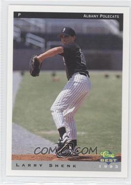 1993 Classic Best Albany Polecats - [Base] #26 - Larry Shenk