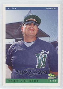 1993 Classic Best Charleston Wheelers - [Base] #26 - Mack Jenkins