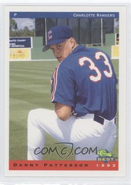 1993 Classic Best Charlotte Rangers - [Base] #18 - Danny Patterson