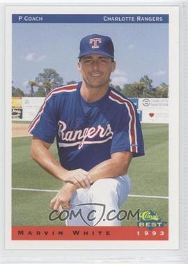 1993 Classic Best Charlotte Rangers - [Base] #29 - Marvin White