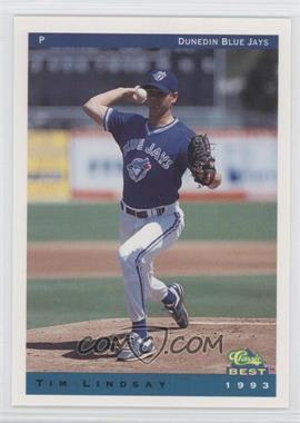 1993 Classic Best Dunedin Blue Jays - [Base] #14 - Timothy Lindsay