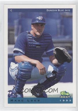 1993 Classic Best Dunedin Blue Jays - [Base] #15 - Marc Loeb