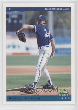 1993 Classic Best Dunedin Blue Jays - [Base] #22 - Rick Steed