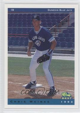 1993 Classic Best Dunedin Blue Jays - [Base] #25 - Chris Weinke