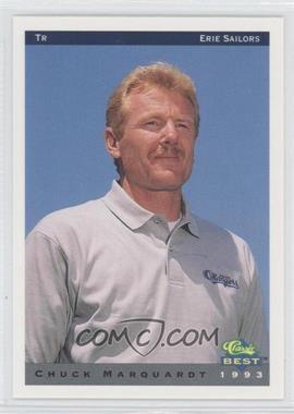 1993 Classic Best Erie Sailors - [Base] #30 - Chuck Marquardt