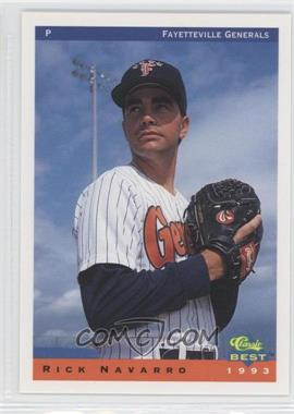 1993 Classic Best Fayetteville Generals - [Base] #18 - Rick Navarro