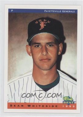 1993 Classic Best Fayetteville Generals - [Base] #24 - Sean Whiteside