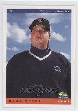 1993 Classic Best Fayetteville Generals - [Base] #28 - Doug Teter