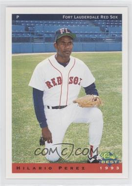 1993 Classic Best Ft. Lauderdale Red Sox - [Base] #21 - Hilario Perez