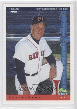 1993 Classic Best Ft. Lauderdale Red Sox - [Base] #29 - Lee Stange