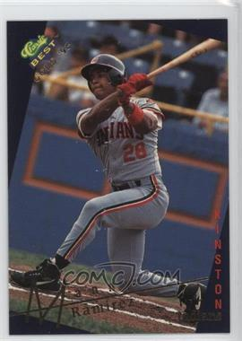 1993 Classic Best Gold Minor League - [Base] #124 - Manny Ramirez