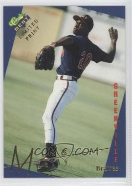 1993 Classic Best Gold Minor League - Limited Print #4 - Mike Kelly