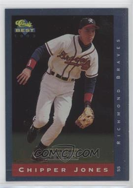 1993 Classic Best Minor League - Young Guns #YG7 - Chipper Jones