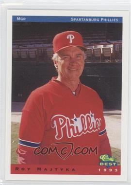 1993 Classic Best Spartanburg Phillies - [Base] #25 - Roy Majtyka