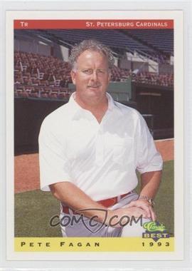 1993 Classic Best St. Petersburg Cardinals - [Base] #30 - Pete Fagan
