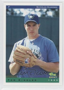 1993 Classic Best Waterloo Diamonds - [Base] #20 - Tom Kindler
