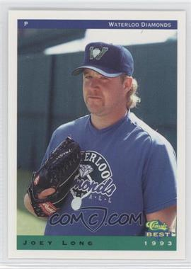 1993 Classic Best Waterloo Diamonds - [Base] #22 - Joey Long